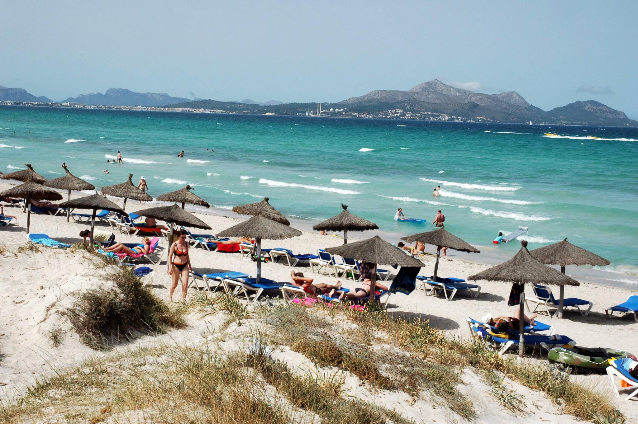 Playa De Muro Karte.Strande Calas Buchten Playa De Muro