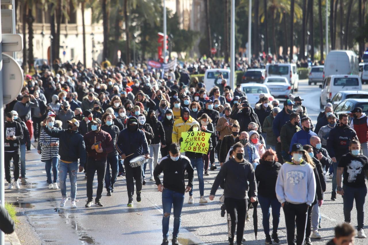16 Personen auf Mallorca müssen mit Bußgeld rechnen