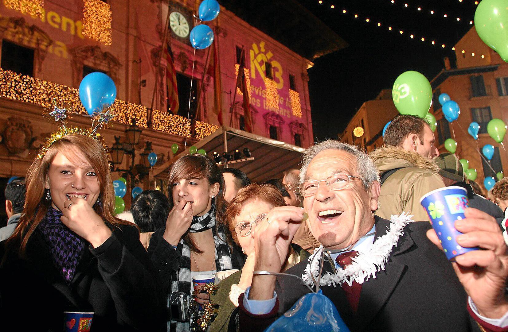 So wird auf Mallorca Silvester gefeiert