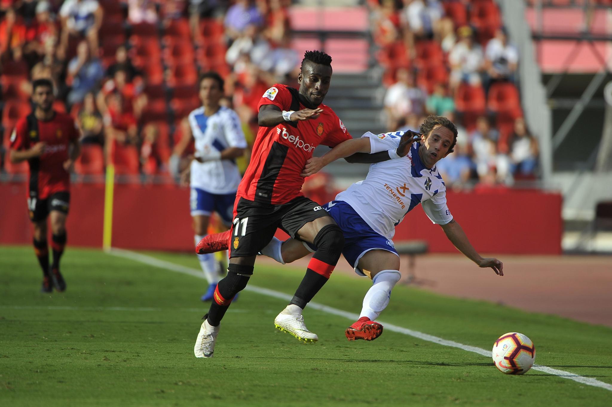 Real Mallorca gegen Teneriffa im Torrausch