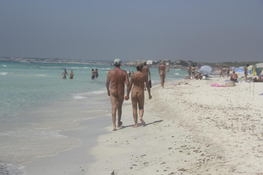 das erste mal am fkk strand