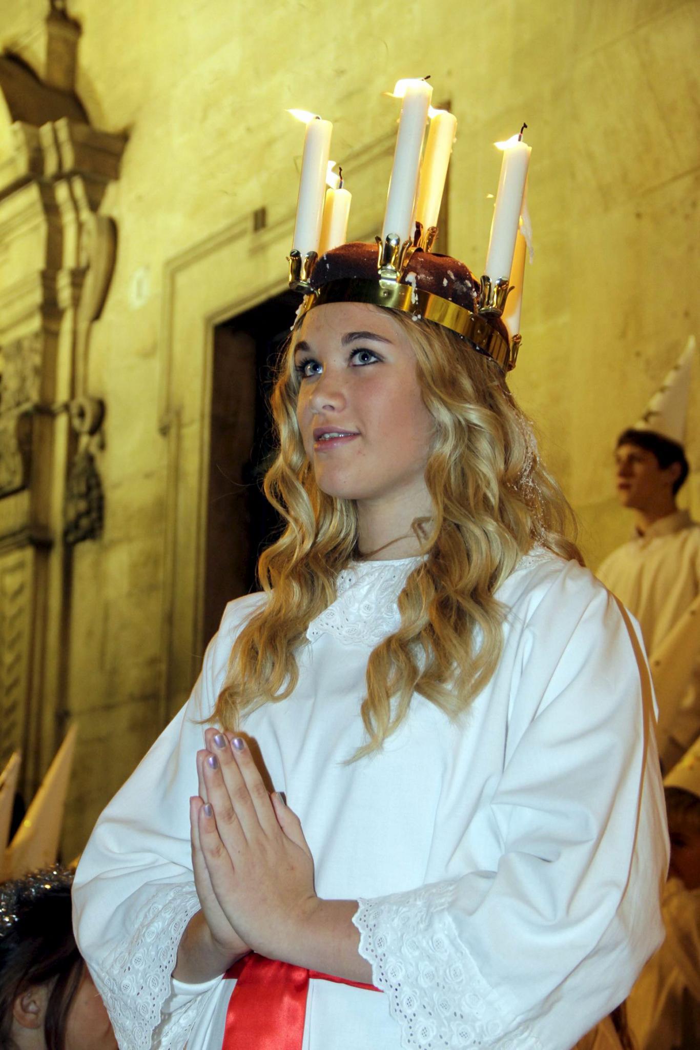 Heilige Lucia Schweden