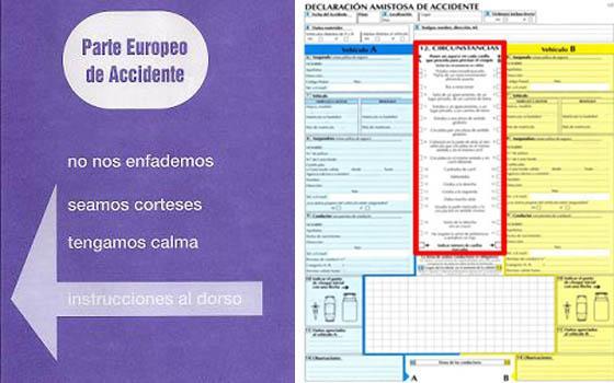 Was muss ich beim Europäischen Unfallbericht beachten?