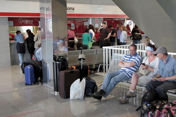Verspätungen wegen Fluglotsenstreik