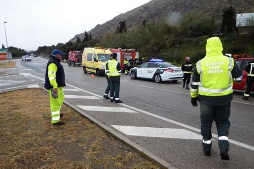 Zwei Tote und zwei Verletzte bei Unfall in Alcúdia