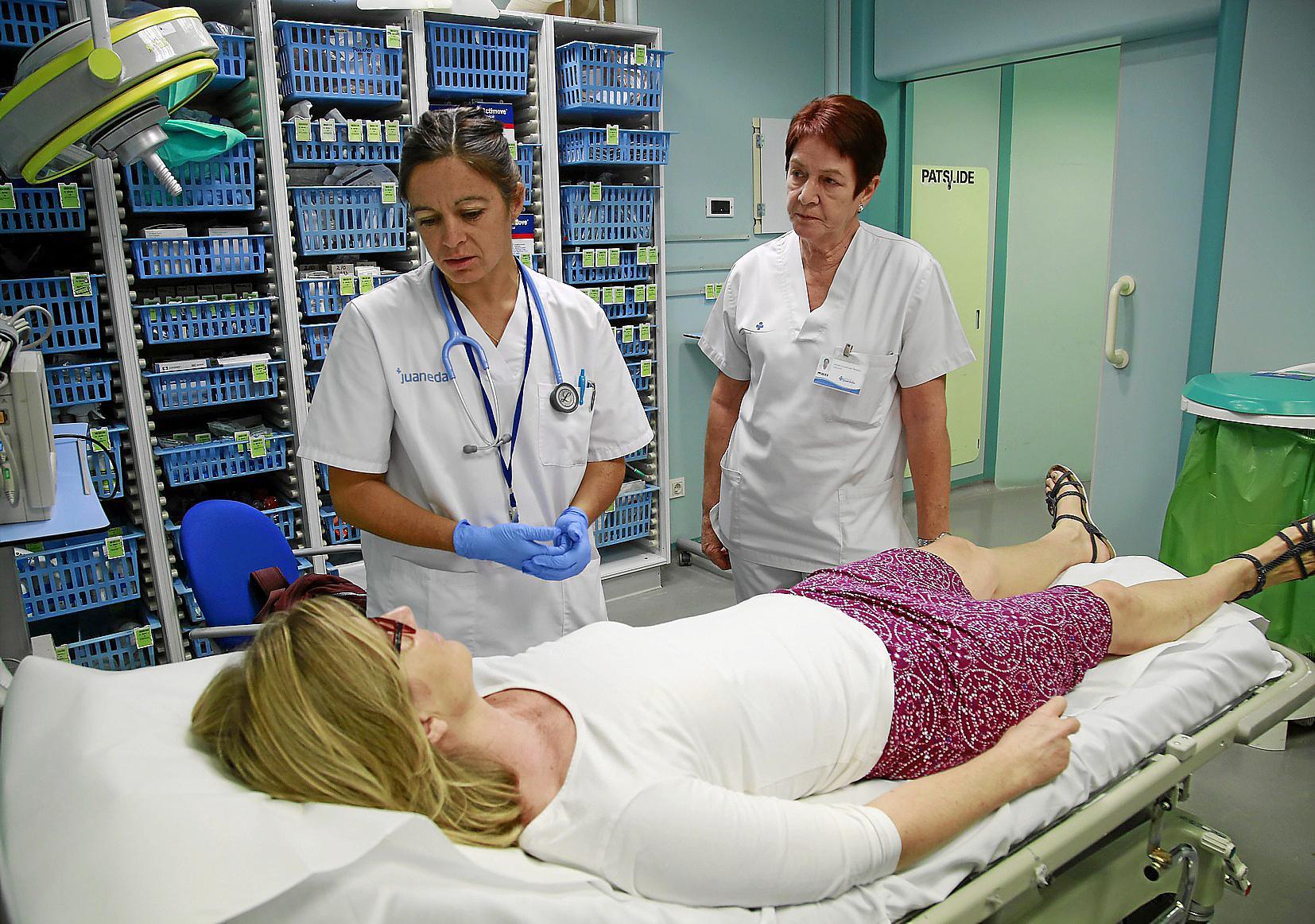 Krankenpflege: Auch mal in den Arm nehmen » Gesellschaft