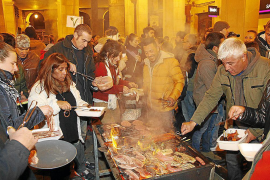 Feuriges Stadtfest in Palma de Mallorca
