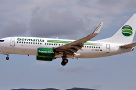Boeing 737 der Germania.
